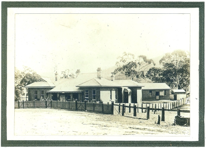 Courthouse and Police Station, Wyndham NSW, circa 1900