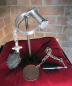 Ginger Bottari, Prisoners of the Crown suite (manacle, cameo, caged pearl, bullet, chains and love token)