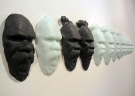 Megan Bottari, 'Post-modern Tokenism III' (side), lost wax cast crystal