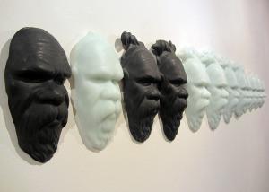 Megan Bottari, 'Post-modern Tokenism III' (side), lost wax cast crystal