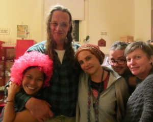 The Late Stayers; Elsa, Marcus, the Muzzbotts and Helen