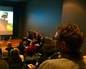 Ned Kelly in Art panel