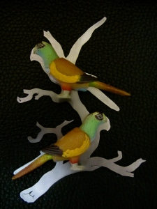 Ginger Bottari, Parrot brooches (Vernacular Reassignment)