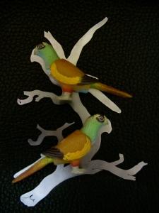 Ginger Bottari, Parrot brooches (Vernacular Reassignment)