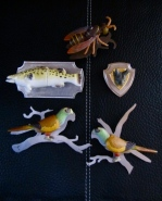 Ginger Bottari, brooches from the Vernacular Reassignment series