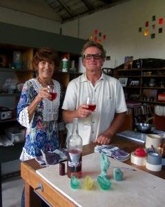 Rosa Maria and Brian