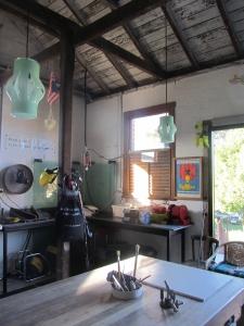 Betty Blair blown glass paper lanterns