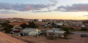 infamous Coober Pedy drive-in