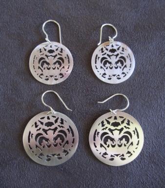 Ginger Bottari, Crownie earrings (plain)