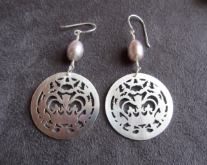 Ginger Bottari, Crownie earrings (fancy)