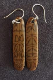 Yardbird earrings, sparrow (secret girlie business)