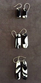 Yardbird earrings, pee wee & magpies