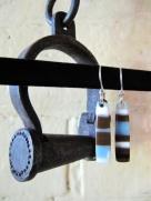 Yardbird earrings, kookaburra