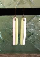 Lolly drop earrings, lemon meringue