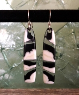 Yardbird earrings, magpie
