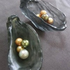 Megsie's oysters, Ginger's pearls