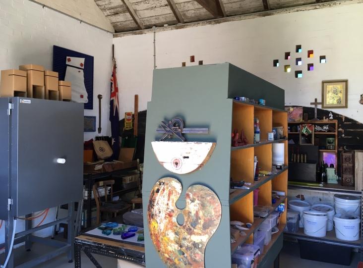 Megsie's work space