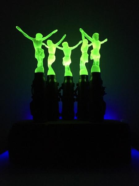 Megan Bottari, 'Jerusalem: Hava Nagila' (uranium glow)